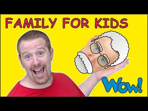 Family Story for Kids from Steve and Maggie | Speaking and Learning Wow English TV