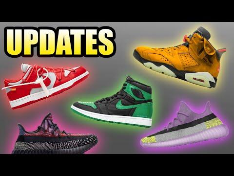 Yellow Cactus Jack Jordan 6 | Off White Dunk Delay | Yeezy 350 Yecheil | Sneaker Updates 44