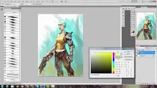 Speed Painting: She-Borg