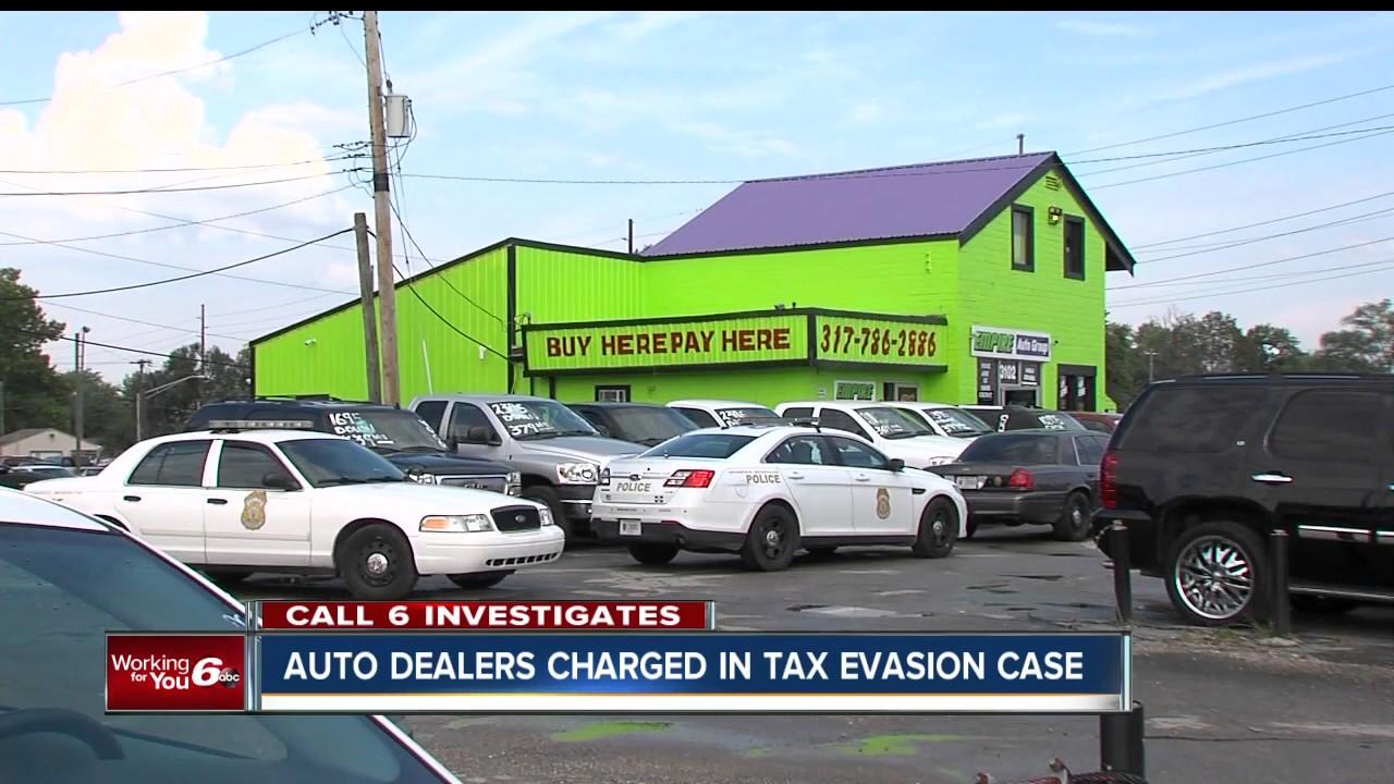 Used Car Tax Evasion