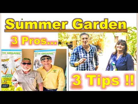 Summer Garden & Tree Care Tips | by,  L. SMITH  &  T. SPELLM