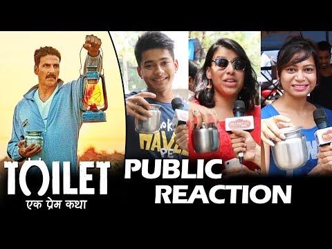 Toilet Ek Prem Katha - PUBLIC REACTION - Akshay Kumar, Bhumi Pednekar