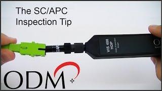 VIS Inspection Scopes: SC APC Inspection Tip