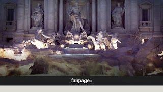 Fontana di Trevi torna a splendere dopo il restauro