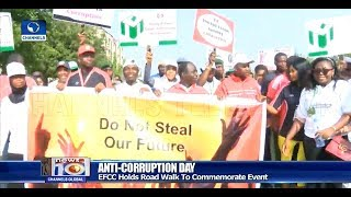 EFCC Officials Storm Abuja Streets, Reaffirms Commitment To Fighting Corruption