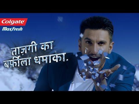 Colgate Max Fresh Power Freeze -Taazgi Ka Barfeela Dhamaka with Ranveer Singh