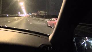 Audi RS6 Stage 1 680 hp vs MR E55 AMG stock 60-220