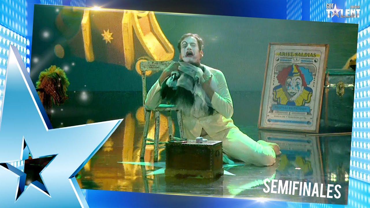 ARIEL dejó todo en el escenario y maravilló con su VOZ | Semifinal 6 | Got Talent Uruguay 2