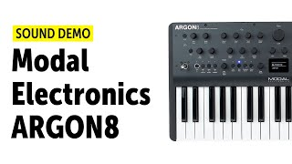 Modal Electronics Argon8 Sound Demo (No Talking)