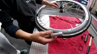 Team KATUSHA - Zipp wheels - How to assemble