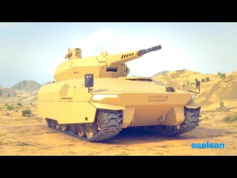 Aselsan - Korhan 35mm Next Generation Infantry Fighting Vehicle Combat Simulation [720p]