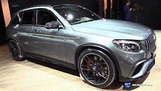 2018 Mercedes AMG GLC 63 S - Exterior Interior Walkaround - 2018 Montreal Auto Show