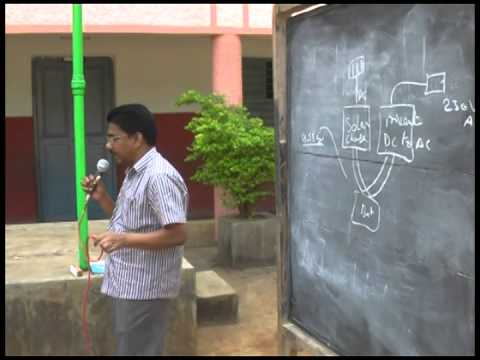 About Power saving & Solar power class in telugu from 7th -10th standards