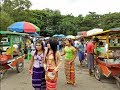 Video Myanmar Culture and Traditional - National Race Villages in Yangon