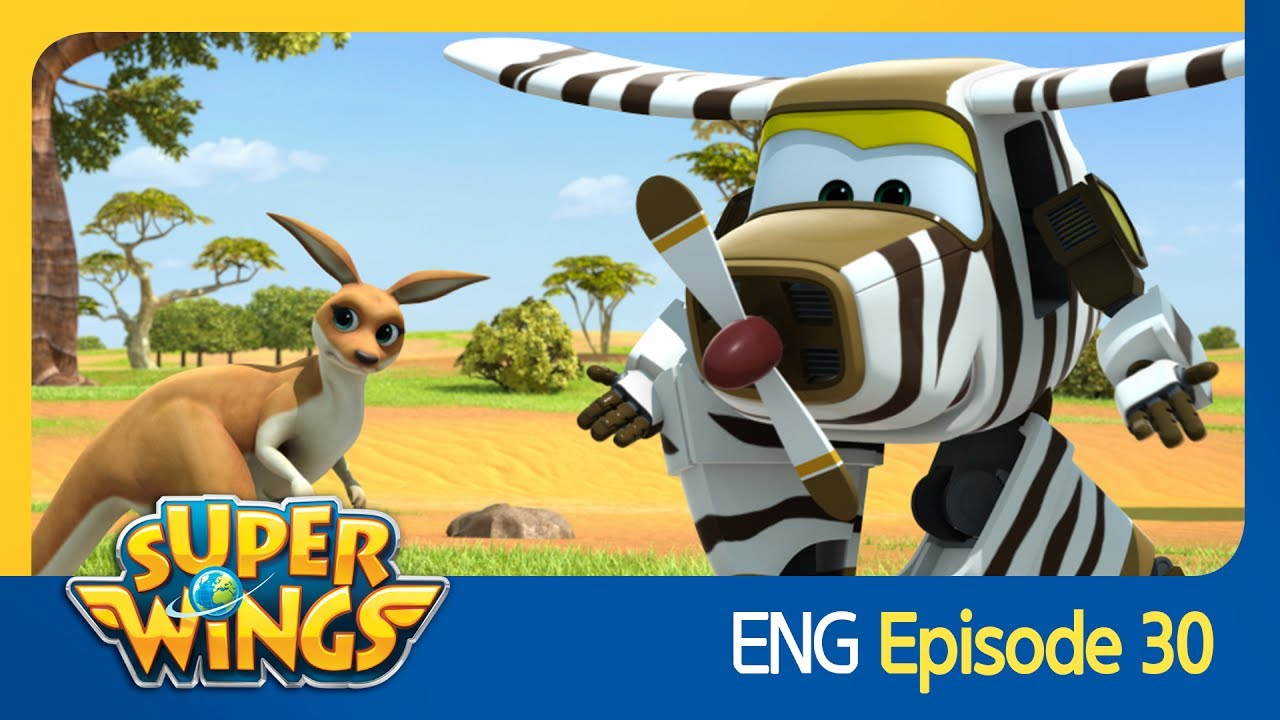 super wings ep 30 aussie animals eng youtube. Black Bedroom Furniture Sets. Home Design Ideas