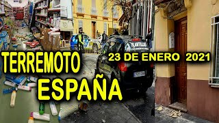 SISMO EN SANTA FE, GRANADA, ESPAÑA HOY 23 DE ENERO 2021 ESTE AÑO ESTA MALDITO, terremoto hoy