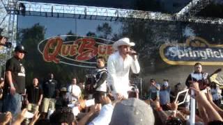 Gerardo Ortiz - Cara A La Muerte (En Vivo Whittier Narrows Que Buena 5 de Mayo Festival)