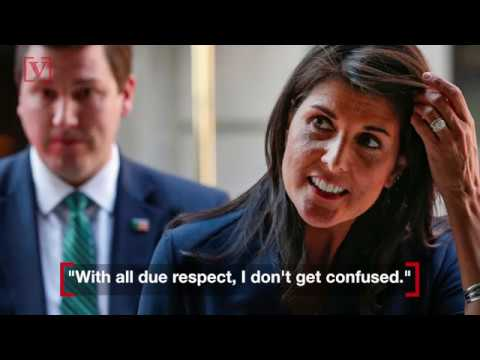'With All Due Respect, I Don't Get Confused': Nikki Haley Responds to Trump Advisor