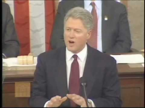 Bill Clinton-State of the Union Address (January 23, 1996)