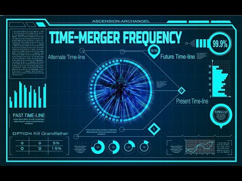 Time-Merger Frequency - Merge Present Soul to Past Binaural Beat Change Future Soul-Merger