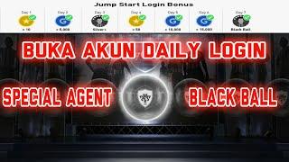 Pes 2018 Mobile   Buka Akun Daily Login Special Agent Black Ball