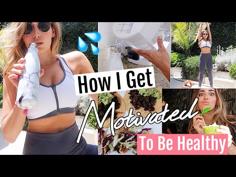 How to Stay Motivated To Be HEALTHY// FITNESS VLOG