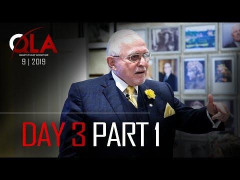 Day 3 Part 1 | September 2019 | Dan Peña QLA Castle Seminar