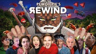 YouTube Community Rewind 2018 (Grandayy's part from PewDiePie's Rewind)