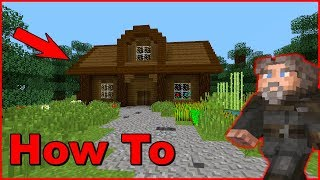Minecraft How To Make A House! |Step By Step|Simple|