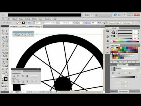 Illustrator | Bicycle Tire Tutorial (22)