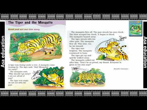 Ch 8 The Tiger and the Mosquito (English - Marigold, Grade 1, CBSE) Story  in Easy Hindi/English