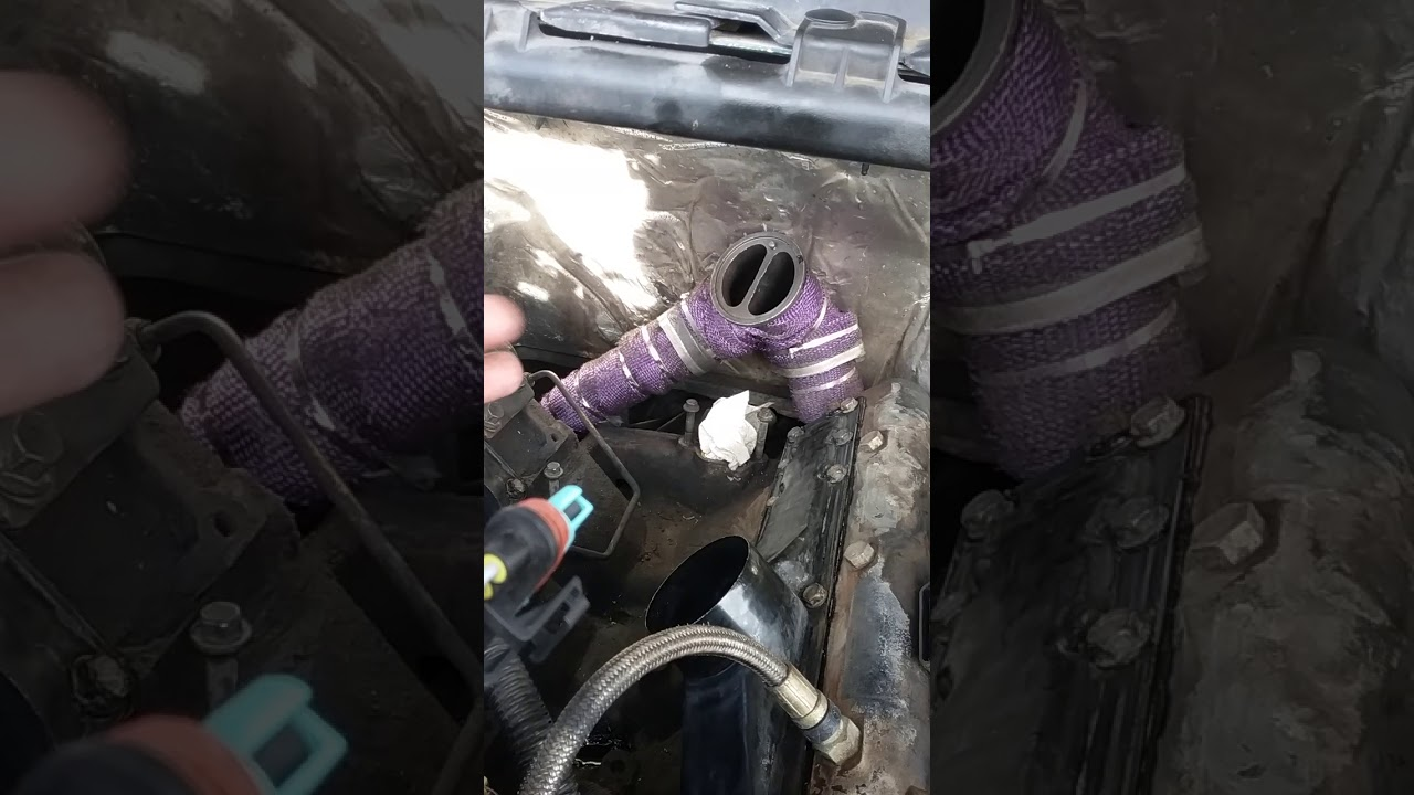 e99 7 3 powerstroke exhaust manifold and uppipe info