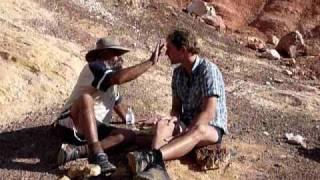 Aboriginal facepainting Iga Warta
