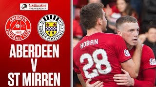 Aberdeen 2-2 St Mirren | Cosgrove Rescues a Point with 15th in 14 Games! | Ladbrokes Premiership