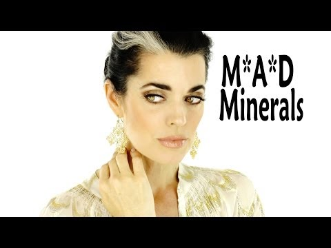 Natural Golden Beach Eyes | M*A*D Minerals | Makeup Tutorial