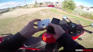 Installing & Review of GPS Trackers for Motorcycle (CBR500R)