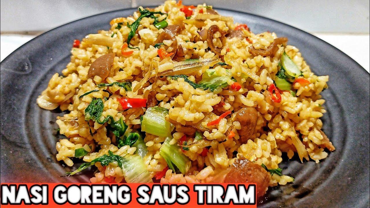 Resep Masakan Nasi Goreng Saus Tiram Youtube