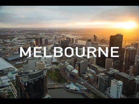 Melbourne, Australia in 4K- Most Liveable City   Cinematic Travel Video   Ellen Projects