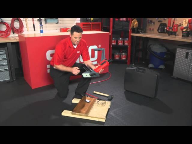 SENCO SHFS200 Hardwood Flooring Stapler