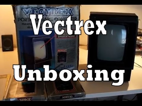 Vectrex Console Unboxing, Review and Demonstration (MB Vectrex)
