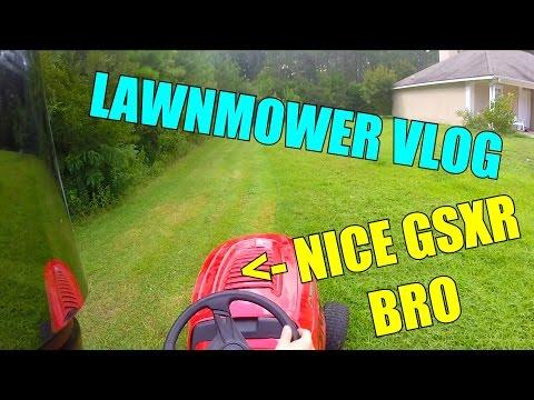 Lawnmower Vlog - Pop The Molly I'm Sweatin'! + Next Bike?