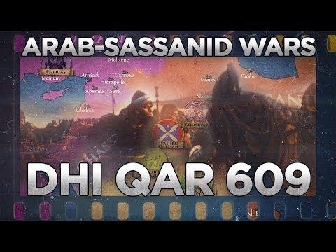 Battle of Dhi Qar (609) - Arab - Sassanid Wars DOCUMENTARY