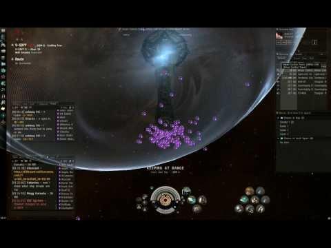 PVP In Eve Online -Legendary Fleet Commander Progod Leads Us To Victory Against The Goons /Nullsec