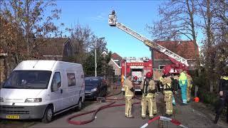 Brand en dode in West Knollendam