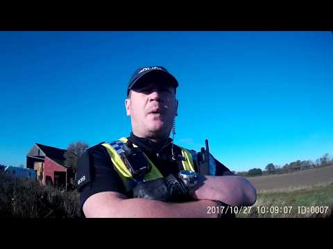 North Yorkshire Corporate Police use force in removing filming of their activities