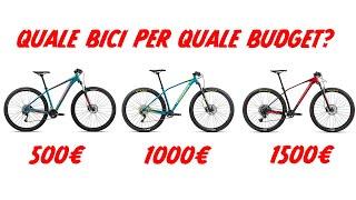 Come spendere bene i propri soldi su bici da 500 a 1500€