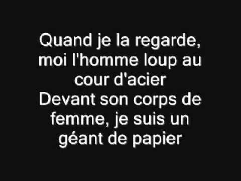 Le Géant de Papier Jean Jacques Lafon Paroles