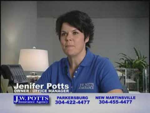 J.W. Potts Insurance Commercial
