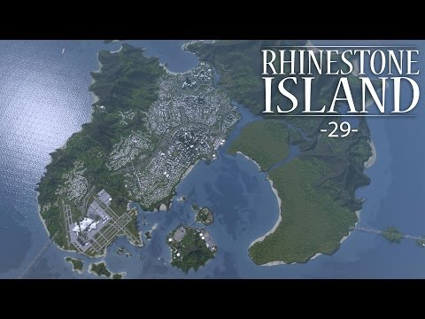 "Cities Skylines - Rhinestone Island [PART 29] ""Tip of the Island"""