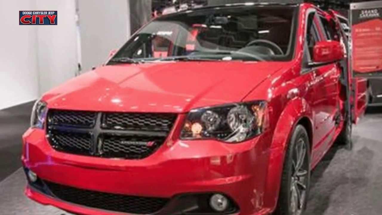 2013 Dodge Grand Caravan Blacktop Review Youtube